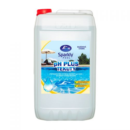 pH plus tekutý 25 l (38 kg)